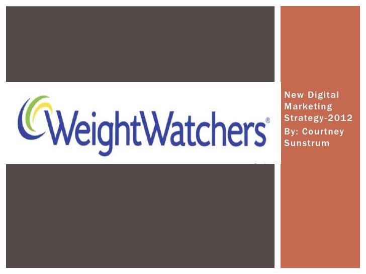 Digital Marketing Campaign: Weight Watchers