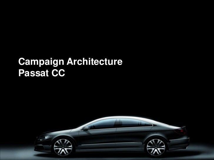 Campaign ArchitecturePassat CC<br />