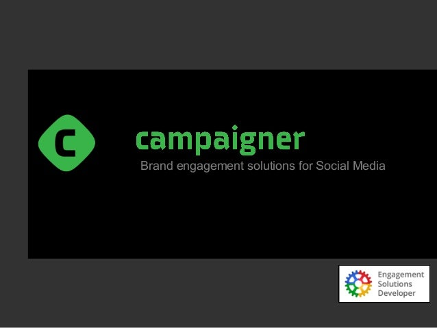 Brand engagement solutions for Social Media