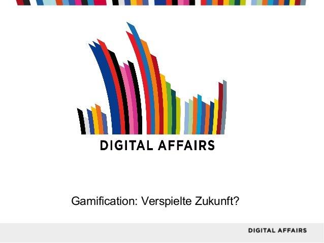 Gamification: Verspielte Zukunft?