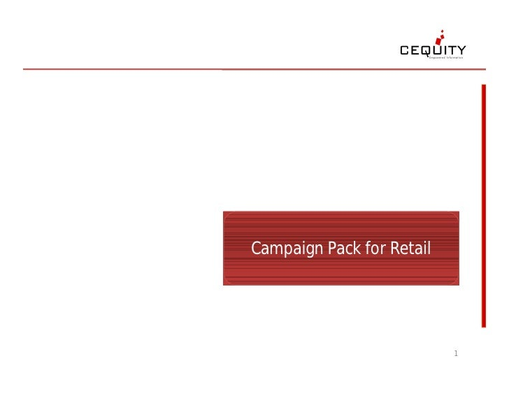 Campaign Pack for Retail Marketing