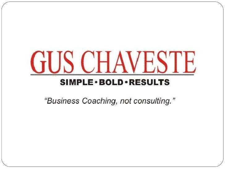 Business Coaching done Right!