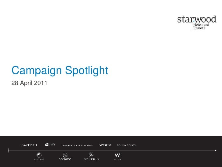 Campaign Spotlight<br />28 April 2011<br />