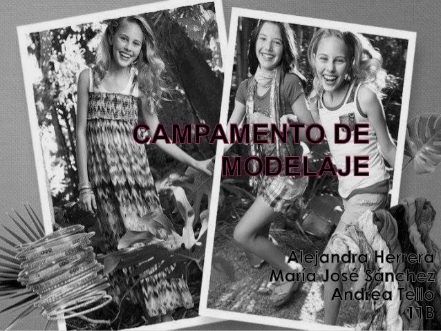  Se invitara a niñas entre 7 y 12 años a participar en nuestro campamento de modelaje que consta de dos semanas, la prim...