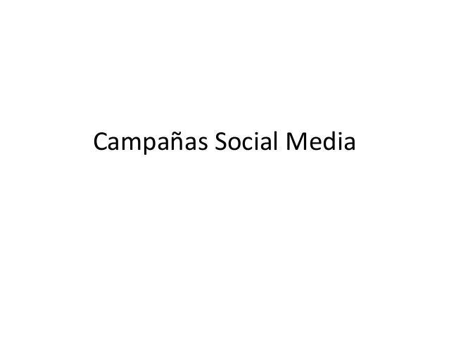 Campañas sm