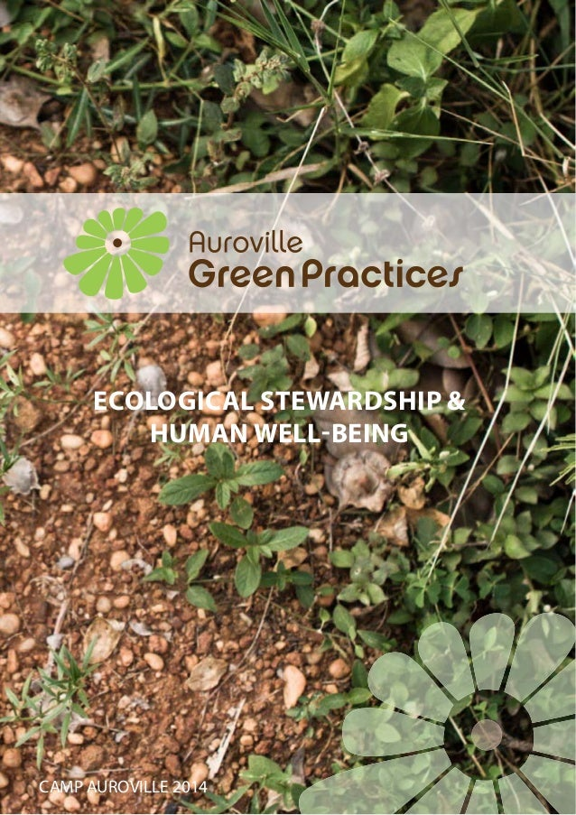 CAMP AUROVILLE 2014 ECOLOGICAL STEWARDSHIP & HUMAN WELL-BEING