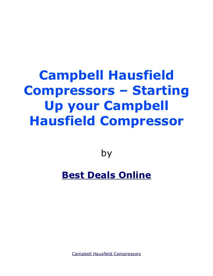 Campbell Hausfield Compressors