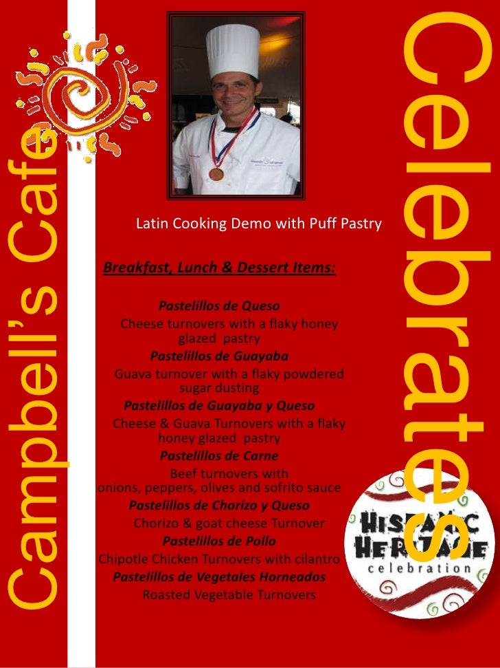 Campbell Soup Co Hispanic Heritage Event