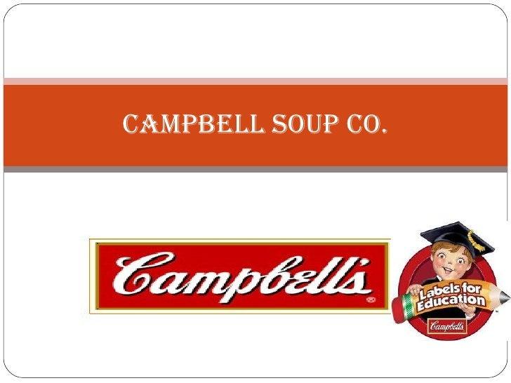 campbell soup case study