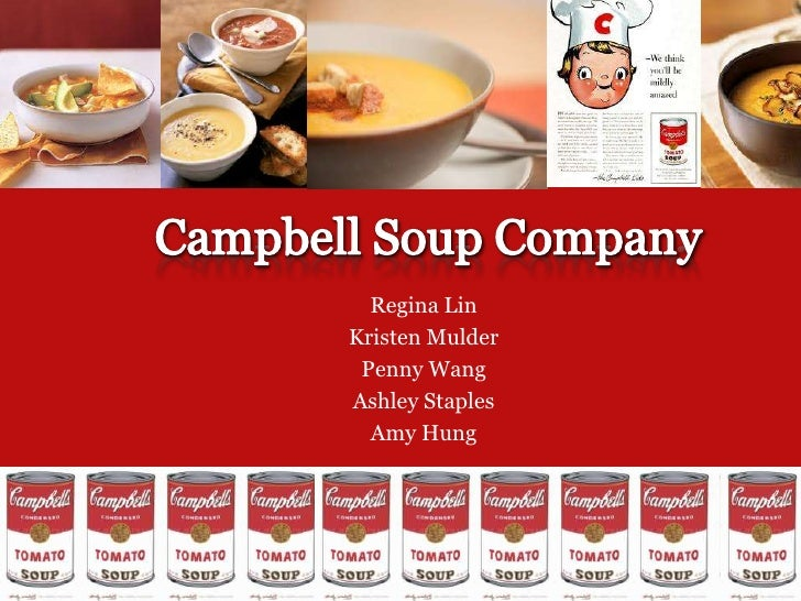 Campbell Soup Good Campbell Soup Company