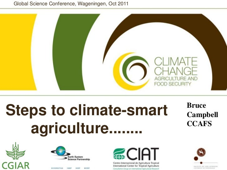 Steps to Climate-Smart Agriculture for Wageningen