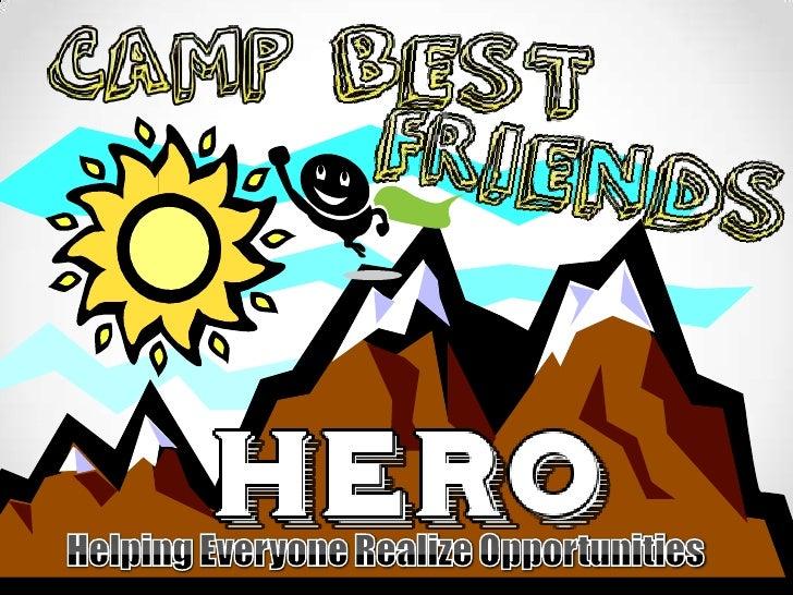 Washington Park Camp Best Friends