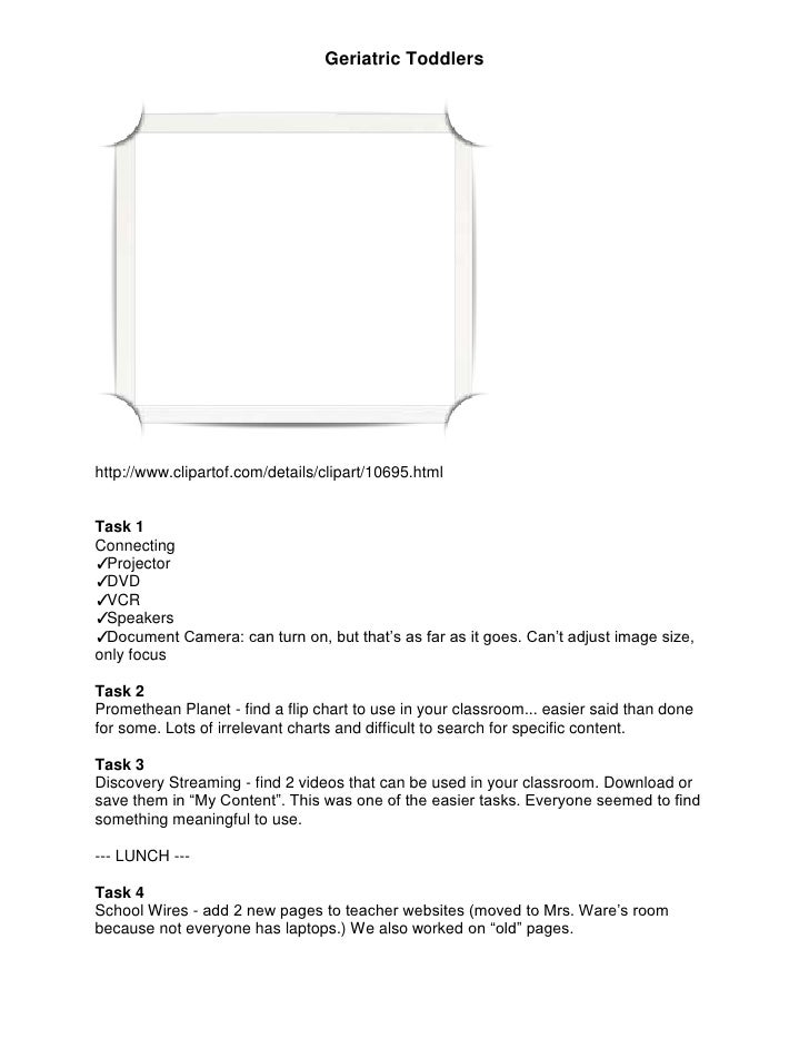 http://www.clipartof.com/details/clipart/10695.html<br />Task 1<br />Connecting <br />Projector<br />DVD<br />VCR <br />Sp...