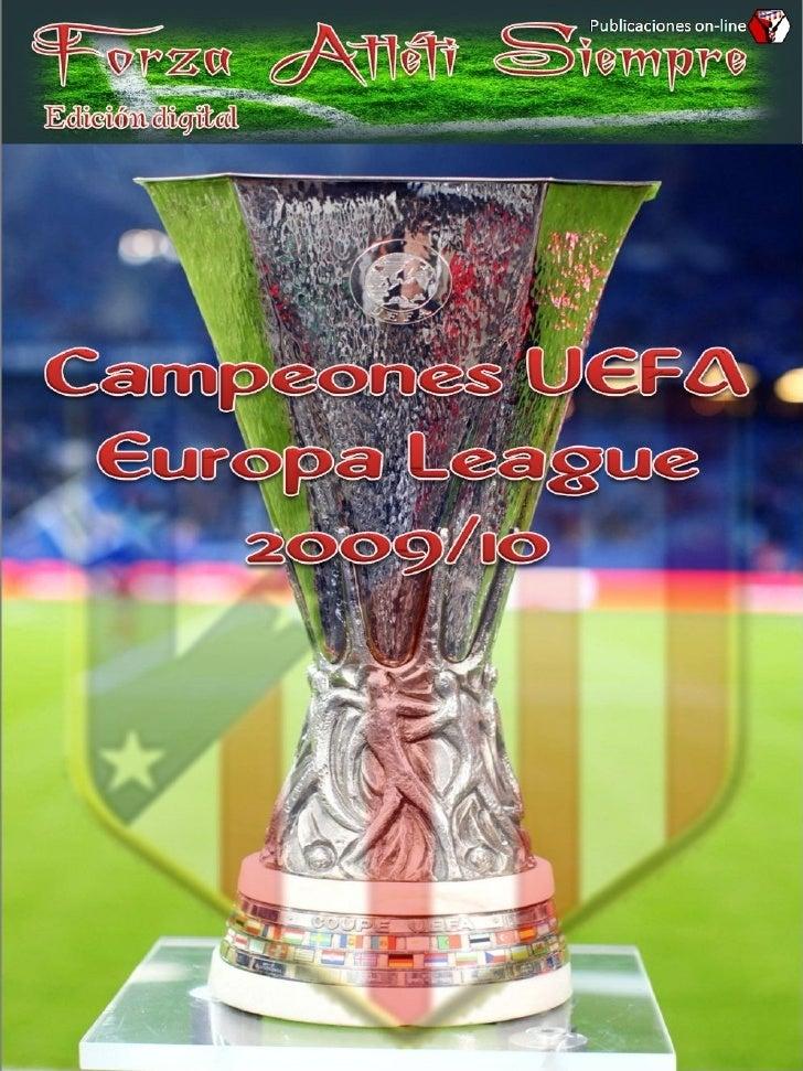 CAMPEONES UEFA EUROPA LEAGUE 2009-10