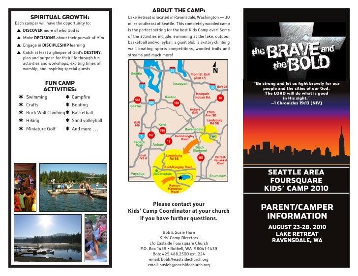 Campers Info Brochure