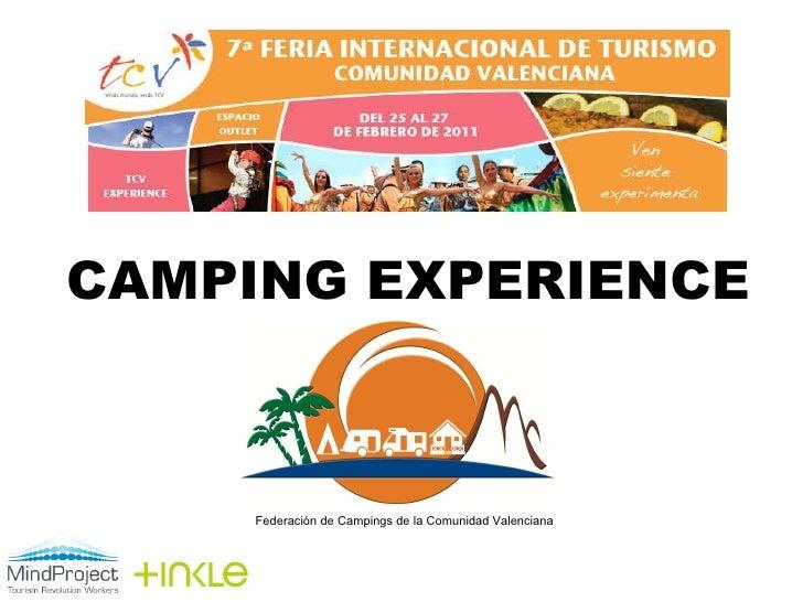 Camping experience. Una Feria experiencial.