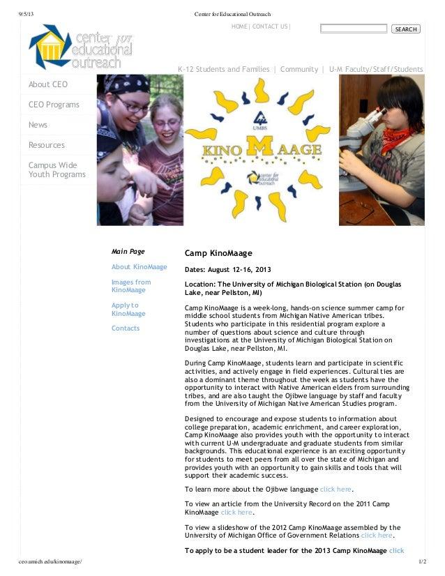 Camp kino maage 2013 article