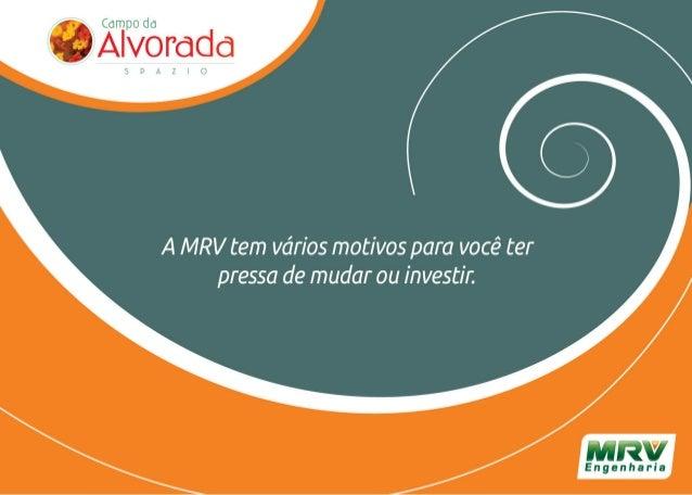 MRV Folder Campo Alvorada | São José dos Campos / SP
