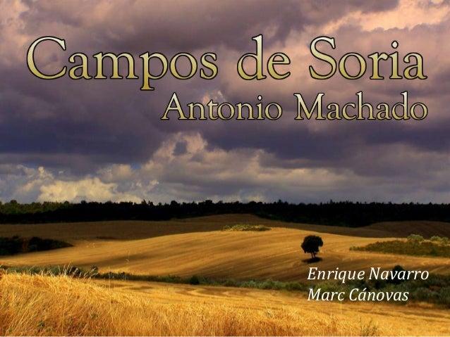 Campos de Soria (VII-VIII) Comentario de Texto