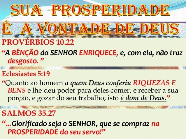 """PROVÉRBIOS 10.22       HIERARQUIA       A VISÃO DO MINISTÉRIO       MINISTERIAL""""A BÊNÇÃO do SENHOR ENRIQUECE, e, com ela, ..."""