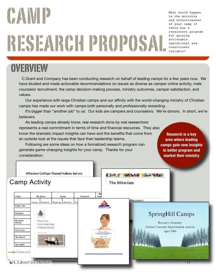 Camp Research Slideshare Document