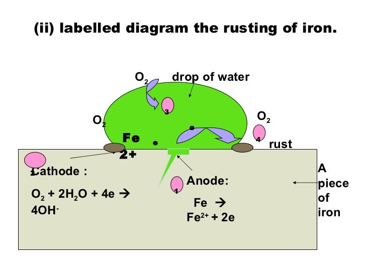 Rusting of Iron Reaction Rusting of Iron Diagram The