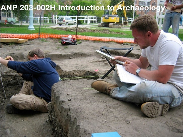 ANP 203-002H Introduction to Archaeology