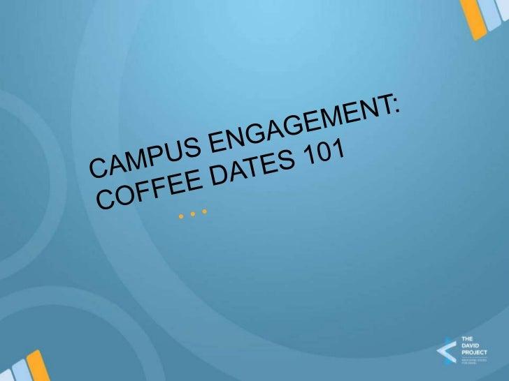 Coffee dates 101