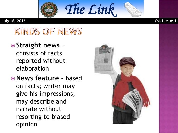 What is a straight news?