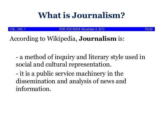 Specialized writing and reporting literary journalism articles
