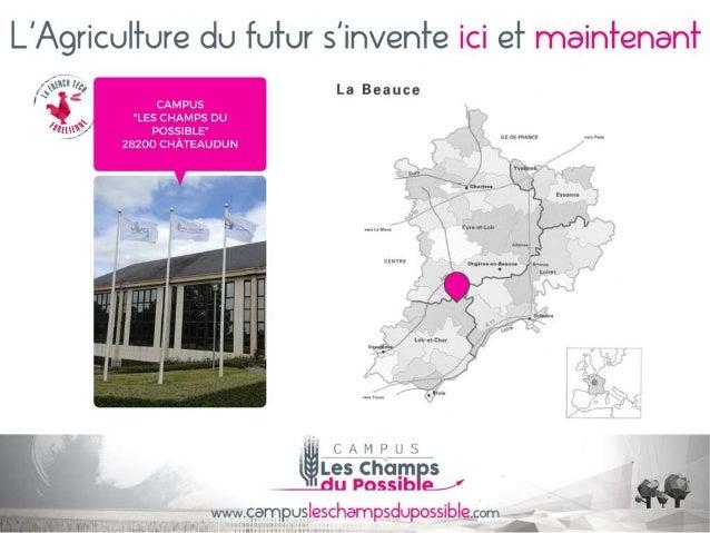 Campus les champs du possible  - Conseil départemental d'Eure-et-Loir