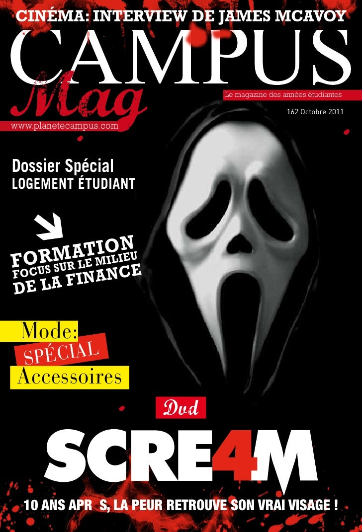 cinéma: interview de James mcavoy                                  Le magazine des années étudiantes                      ...
