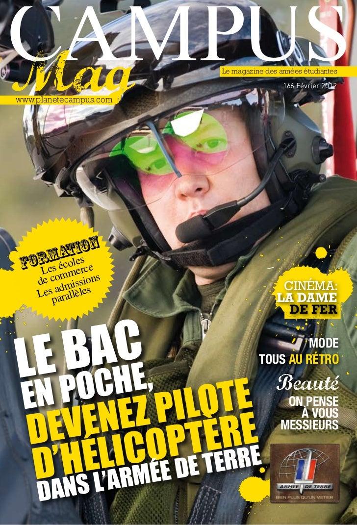 Le magazine des années étudiantes                                         166 Février 2012www.planetecampus.com       atli...
