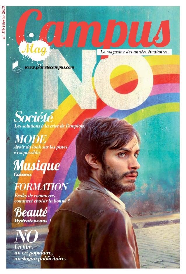Campusn° 176 Février 2013                                                               Le magazine des années étudiantes....