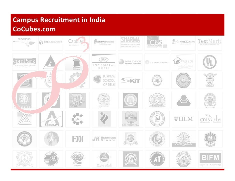 Campus Recruitment in India CoCubes.com