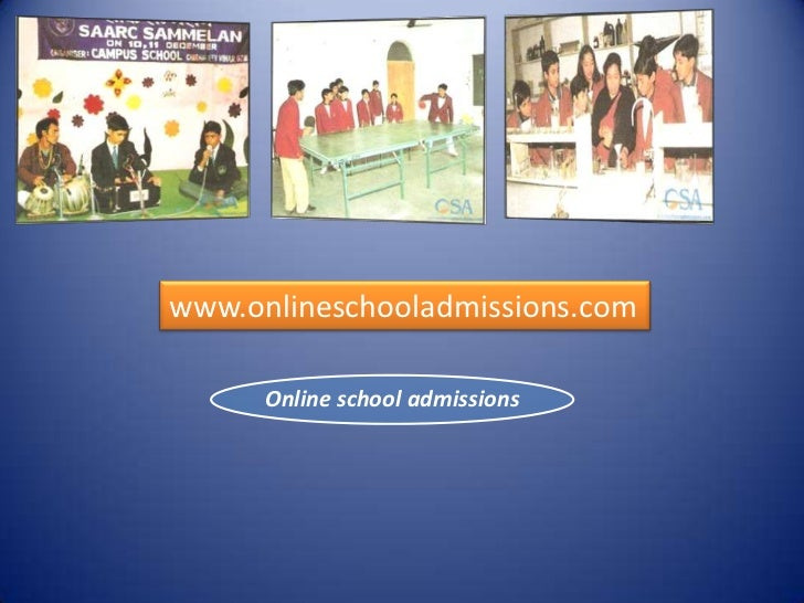 www.onlineschooladmissions.com      Online school admissions