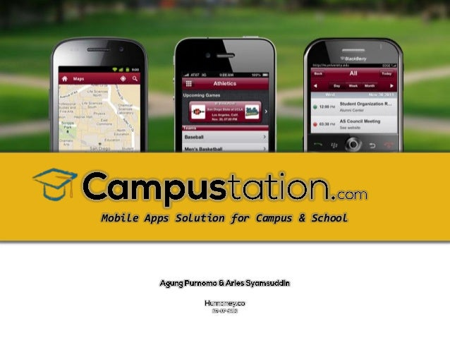 Mobile Apps Solution for Campus & School