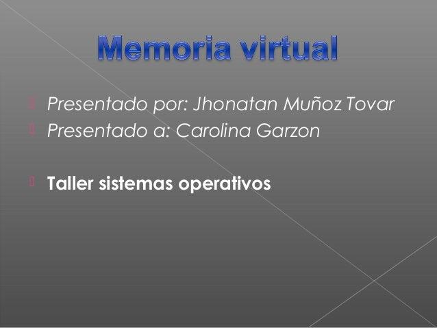 memoria virtual xD