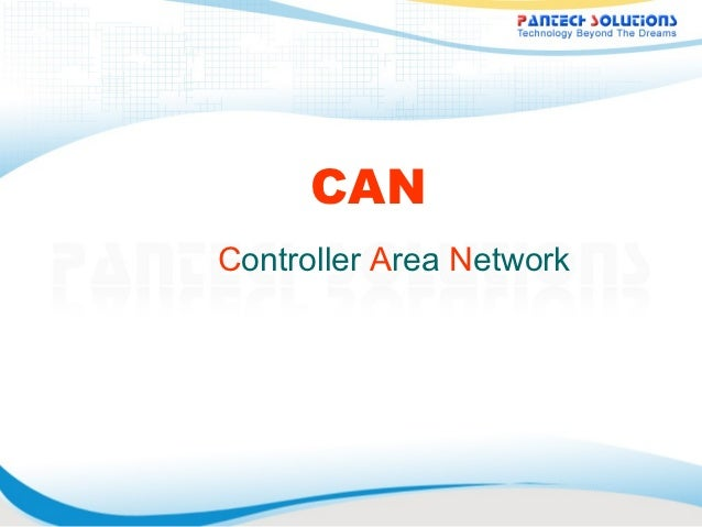CAN- controlled area network