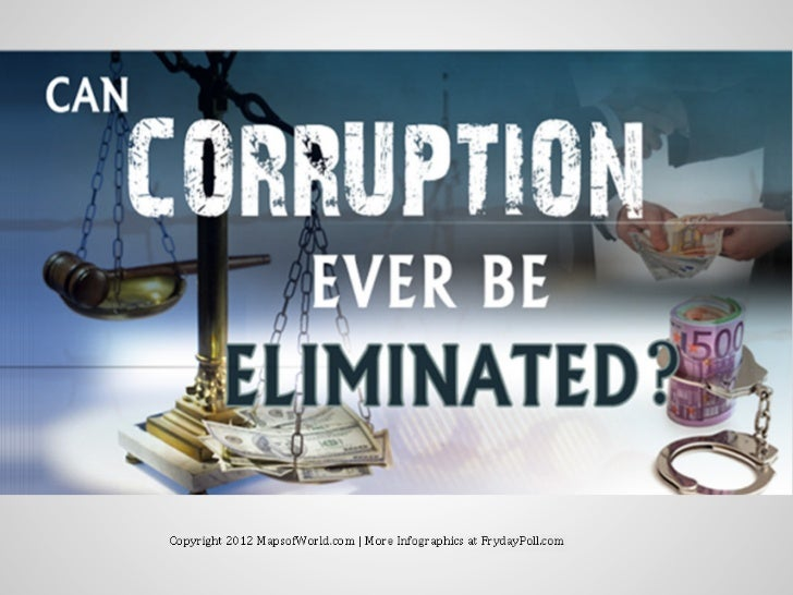 Can Corruption Ever Be Eliminated? Global Statistics Infographic PDF