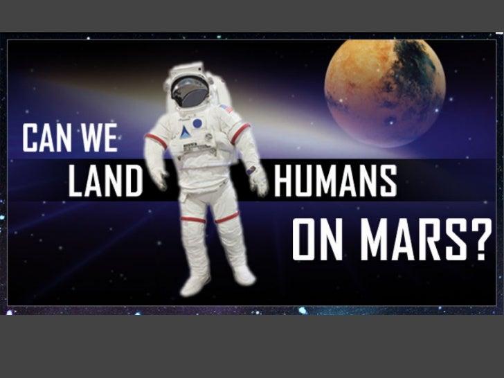 Can We Land Humans On Mars? - PDF on Mars Exploration