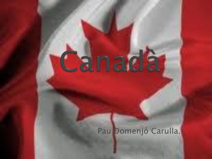 Canadà