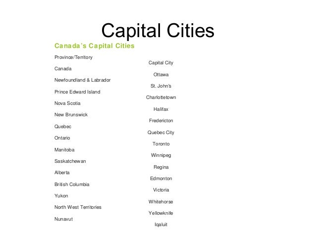 List Of Cities In Prince Edward Island