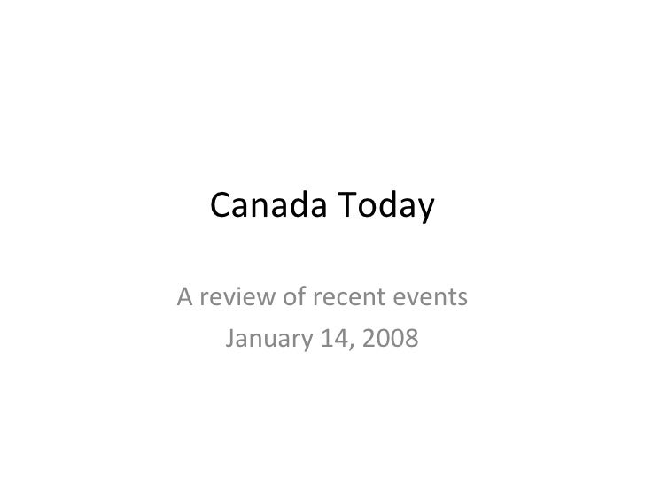 Canada Today