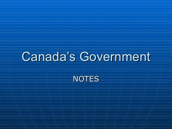Canada Govt