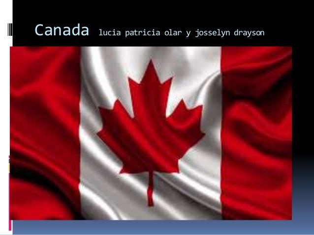 Canada lucia patricia olar y josselyn drayson