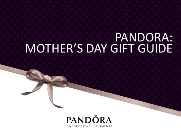 PANDORA Mother's Day Gift Guide 2013 (Canada)