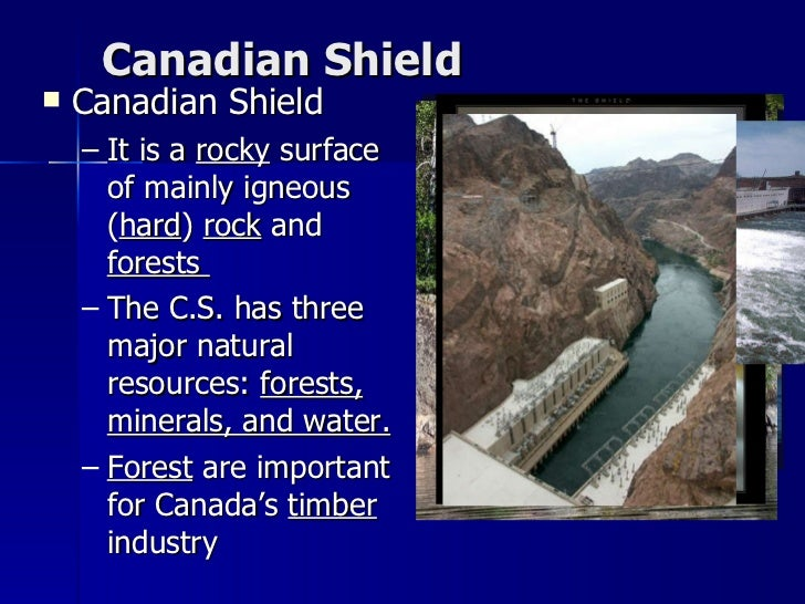 Major Natural Resources In Canada
