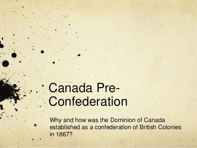 Canada pre confederation