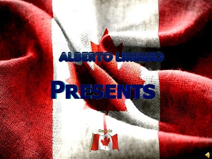 Canada presentation by alberto
